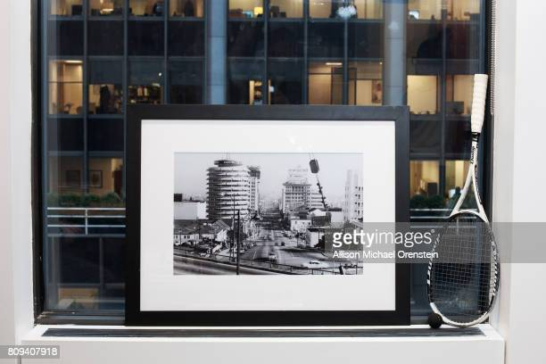 Sony/ATV Publishing Executive Brian Monaco's office is photographed for Billboard Magazine on December 10 2015 in New York City A photo of Capitol...