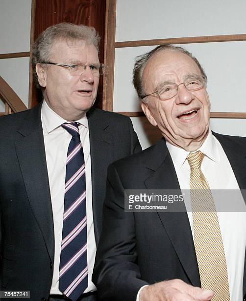 Sony's Sir Howard Stringer and News Corp's Rupert Murdoch