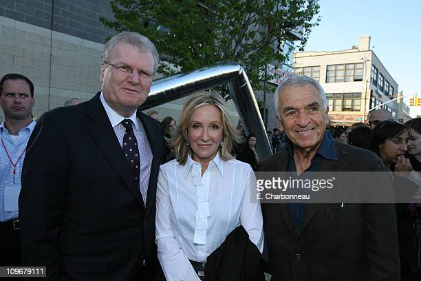 Sony's Sir Howard Stringer Producer Laura Ziskin and Screenwriter Alvin Sargent