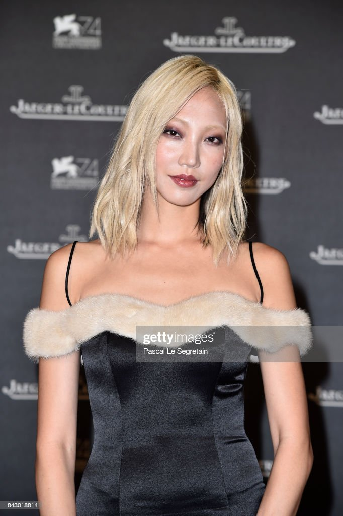 Soo Joo Park arrives for the Jaeger-LeCoultre Gala Dinner during the 74th Venice International Film Festival at Arsenale on September 5, 2017 in Venice, Italy.