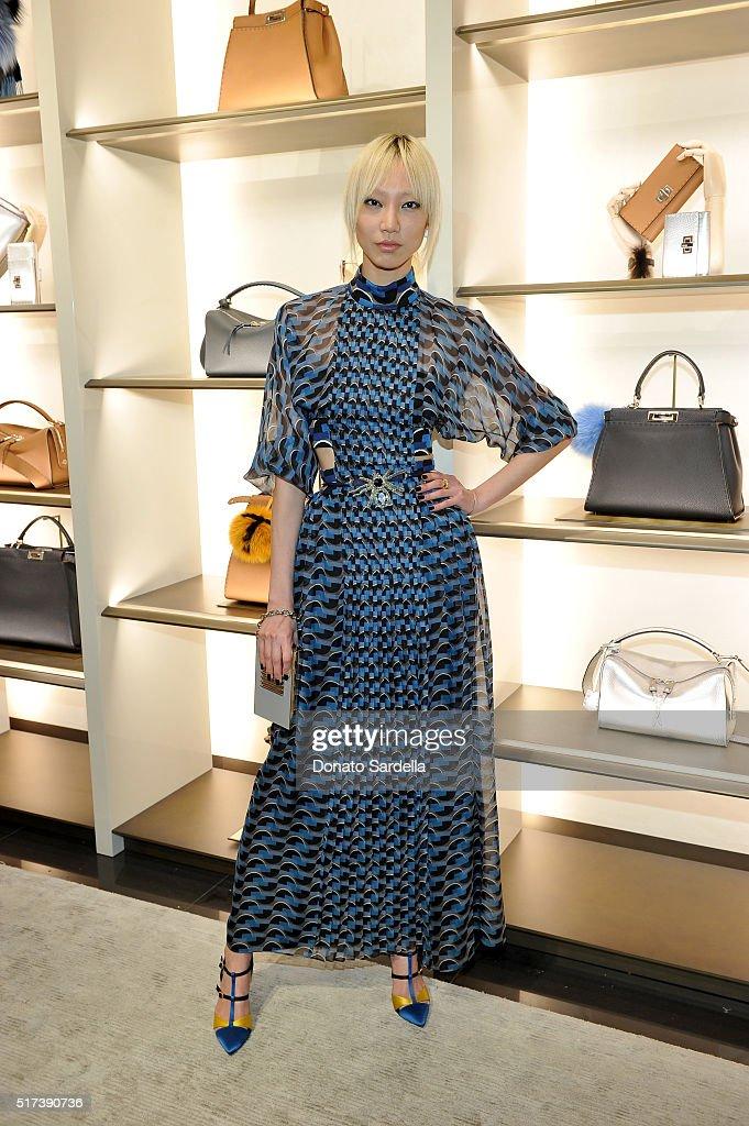 Fendi And Vogue Celebrate Fendi Beverly Hills