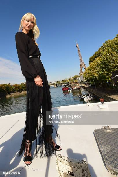 Soo Joo Park attends Le Defile L'Oreal Paris as part of Paris Fashion Week Womenswear Spring/Summer 2019 on September 30 2018 in Paris France