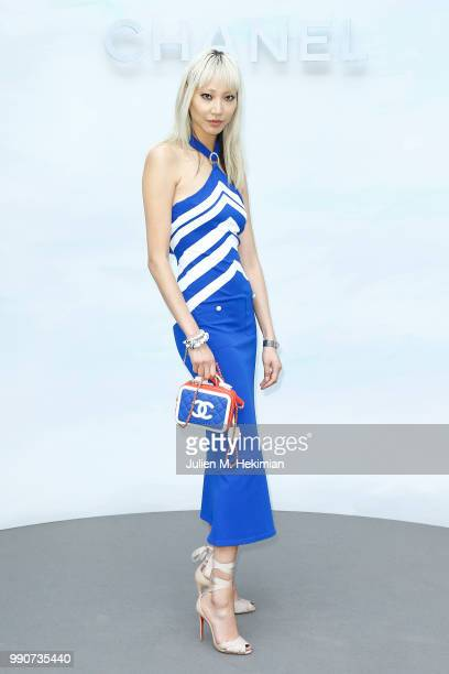 Soo Joo Park attends the Chanel Haute Couture Fall Winter 2018/19 show at Le Grand Palais on July 3 2018 in Paris France