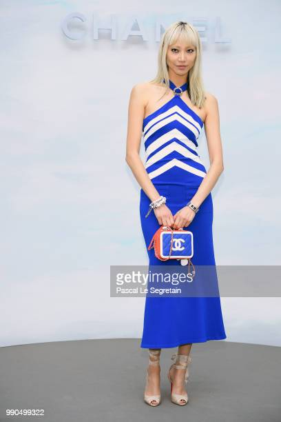Soo Joo Park attends the Chanel Haute Couture Fall Winter 2018/2019 show as part of Paris Fashion Week on July 3 2018 in Paris France