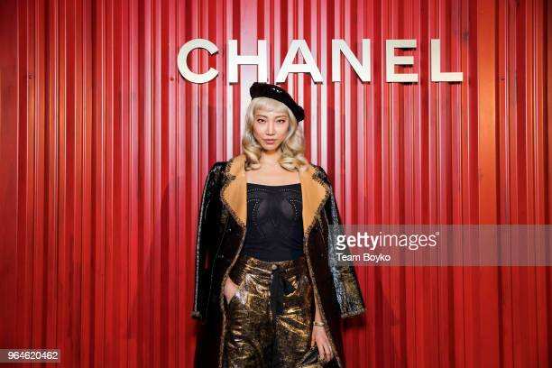 Soo Joo Park attends the Chanel Replica Show In Moscow Metiers D'Art Paris Hamburg 201718 on May 31 2018 in Moscow Russia