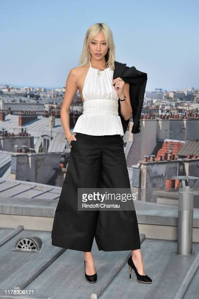 Soo Joo Park attends the Chanel Womenswear Spring/Summer 2020 show as part of Paris Fashion Week on October 01, 2019 in Paris, France.