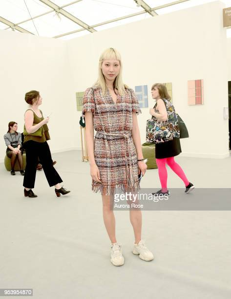 Soo Joo Park Attends the Frieze New York VIP Press Preview on May 2 2018 in New York City