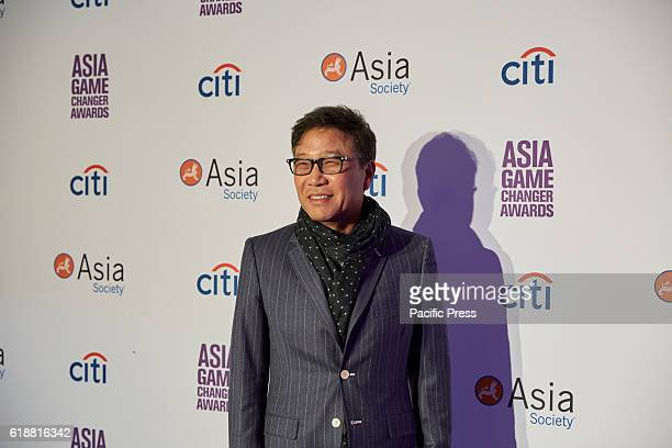 SooMan Lee during the Asia Game Changers 2016 Awards held at the United Nations Headquarters