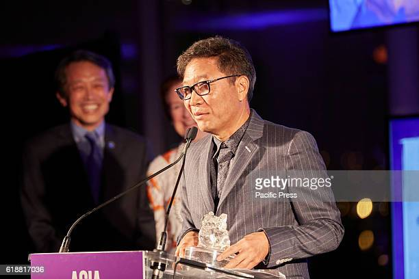 SooMan Lee for turning one nation's pop culture into a global phenomenon Awarded during the 2016 Asia Game Changers held at the United Nations New...