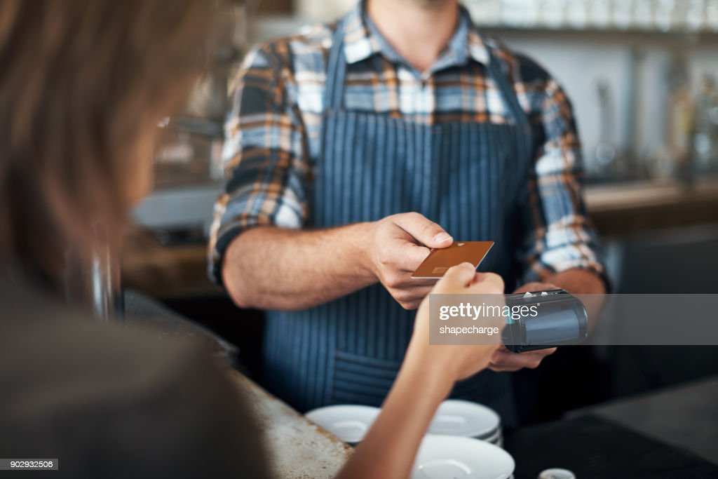 Soon cash will be a thing of the past : Stock Photo