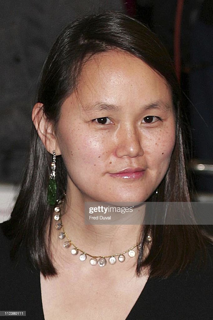 Soon Yi Previn during 'Match Point' London Premiere - Arrivals at Curzon Cinema Mayfair in London, Great Britain.