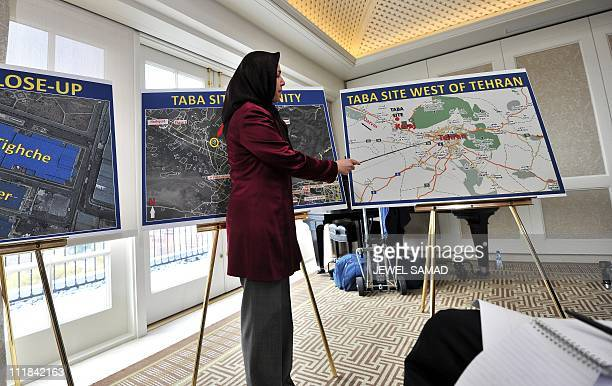 Soona Samsami who revealed the Kala Electric site in Tehran in 2003 explains satellite images and maps allegedly showing location of an industrial...