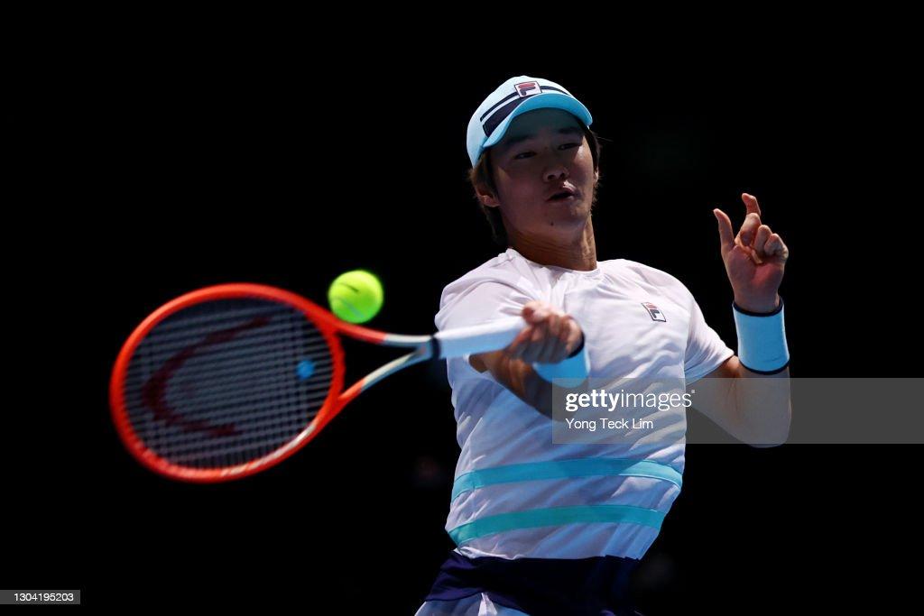 Singapore Tennis Open - Day 5 : News Photo