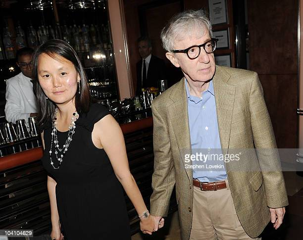 """Soon-Yi Previn and director Woody Allen attend the after party for a screening of """"You Will Meet a Tall Dark Stranger"""" hosted by The Cinema Society..."""