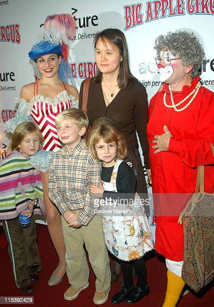 Soon-Yi Previn during 2005 Big Apple Circus Opening Night Gala Benefit at Damrosch Park, Lincoln Center in New York City, New York, United States.