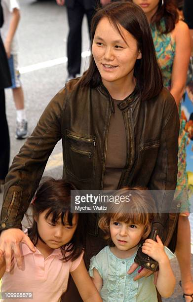 Soon-Yi Previn during Dreamworks Pictures and Dreamworks Productions Present The Premiere of Shrek 2 at Beekman Theater in New York City, New York,...