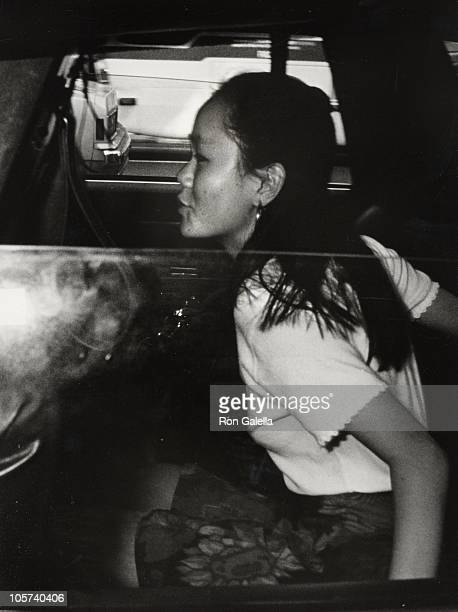 Soon-Yi Previn during Soon-Yi Previn Sighting in New York City - August 25, 1992 at New York City in New York City, New York, United States.