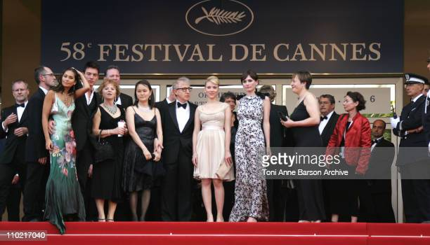 Soon-Yi Previn, Woody Allen, Scarlett Johansson and Emily Mortimer