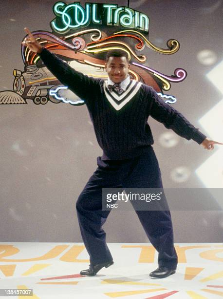 AIR Soooooooul Train Episode 8 Aired 11/7/94 Pictured Alfonso Ribeiro as Carlton Banks