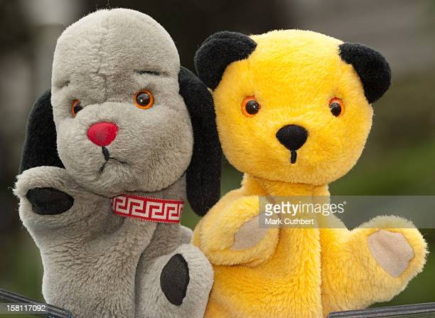 "Sooty And Sweep At The Photocall For The Launch Of ""Snow White"" At Fairfield Hall In Croydon."