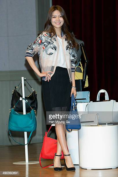 Sooyoung of Girls' Generation attends the 'Double M' styling talk at Dongguk University on May 14 2014 in Seoul South Korea