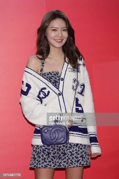 Sooyoung of South Korean girl group Girls' Generation attends the photocall for the CHANEL x Lotte Duty Free 'Chanel Le Rouge' Pop Up Store Open at...