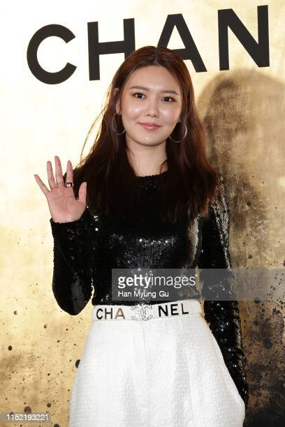 Sooyoung of South Korean girl group Girls' Generation attends the CHANEL ParisNew York 2018'19 Metiers d'Art show on May 28 2019 in Seoul South Korea