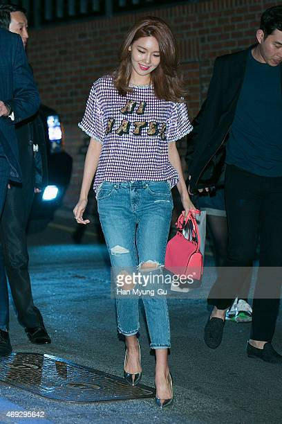 f26db57af6c Sooyoung of South Korean girl group Girls  Generation attends the  Jimmy  Choo  Moments