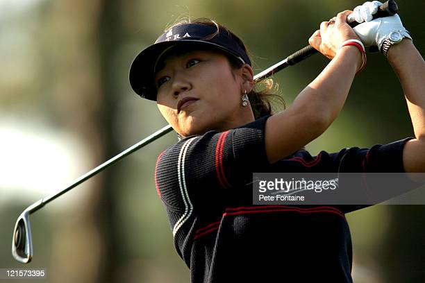 SooYun Kang competes during the second round of the LPGA 2004 Michelob Ultra Open May 7 2004