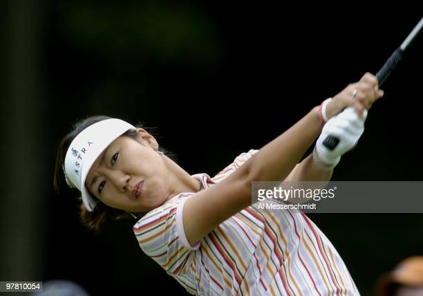 SooYun Kang competes in the final round of the 2004 McDonald's LPGA Championship at DuPont Country Club Wilmington Delaware June 13 2004