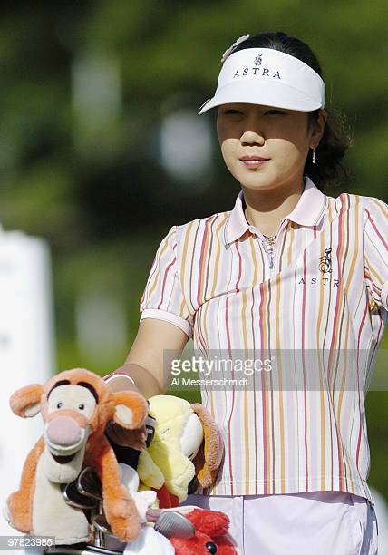 SooYun Kang competes in the thirdround of the 2004 McDonald's LPGA Championship at DuPont Country Club Wilmington Delaware June 13 2004