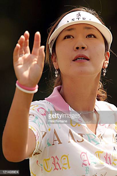 SooYun Kang during ProAm Day of the Weetabix Women's British Open at the Sunningdale Golf Club July 28 2004
