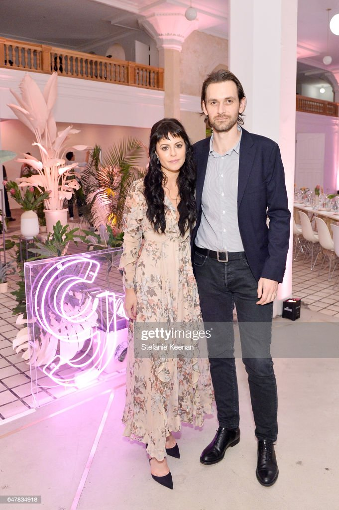 Sophia Amoruso and Galen Pehrson attended the Girlboss + American Express Platinum Collective Dinner on March 3, 2017 in Los Angeles, California.