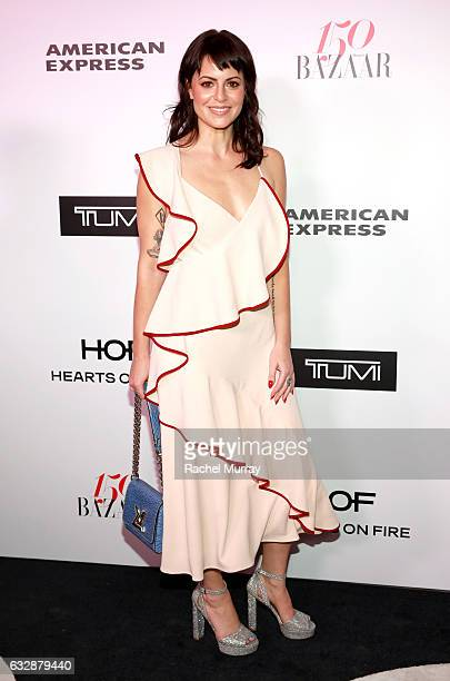 Sophia Amoruso attends Harper's BAZAAR celebration of the 150 Most Fashionable Women presented by TUMI in partnership with American Express La Perla...
