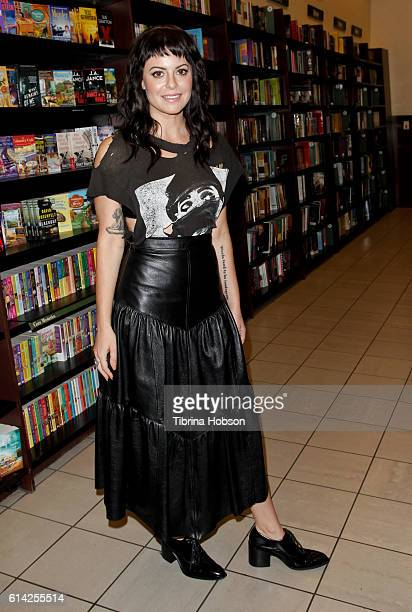 Sophia Amoruso attends her book signing for her new book 'Nasty Galaxy' at Barnes Noble at The Grove on October 12 2016 in Los Angeles California
