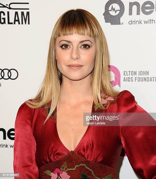 Sophia Amoruso attends the 24th annual Elton John AIDS Foundation's Oscar viewing party on February 28 2016 in West Hollywood California
