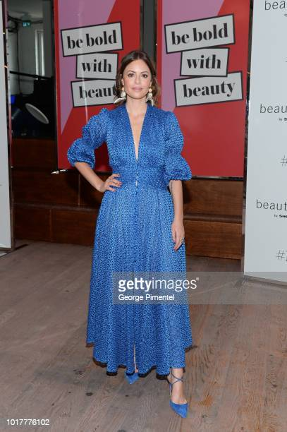 Sophia Amoruso attends the Shoppers Drug Mart Be Bold With Beauty Launch held at Love Child Social House on August 14 2018 in Toronto Canada