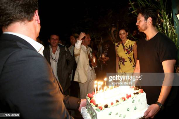 Sophia Amoruso Celebrates Her Birthday at the Private Residence of Jonas Tahlin CEO Absolut Elyx on April 19 2017 in Los Angeles California