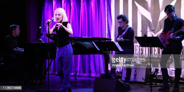 Sophia Anne Caruso attends Broadway's 'Beetlejuice' First Look Presentation at Subculture on February 28 2019 in New York City