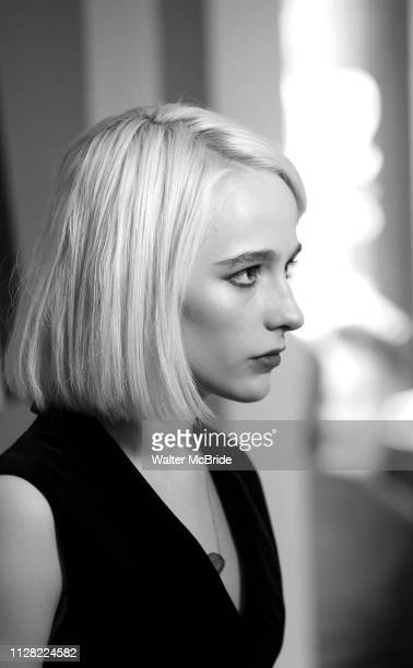 Sophia Anne Caruso attends Broadway's 'Beetlejuice' First Look Photo Call at Subculture on February 28 2019 in New York City