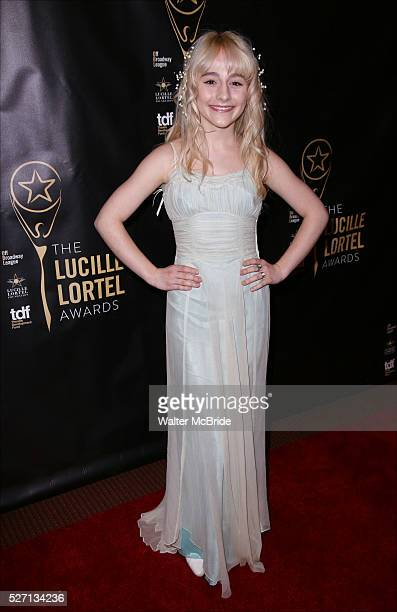 Sophia Anne Caruso attends the 31st Annual Lucille Lortel Awards at NYU Skirball Center on May 1 2016 in New York City
