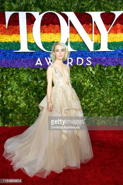 Sophia Anne Caruso attends the 73rd Annual Tony Awards at Radio City Music Hall on June 09 2019 in New York City