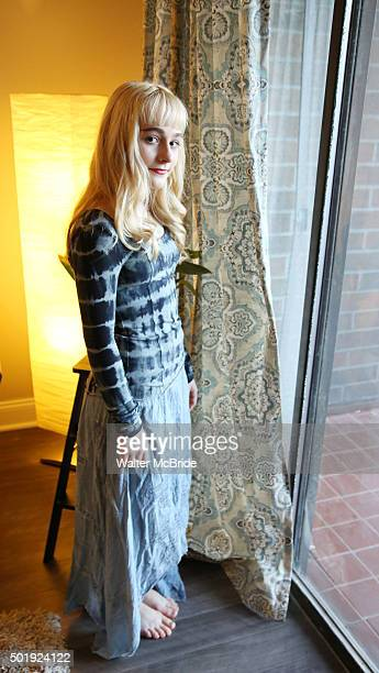 Sophia Anne Caruso photographed at her home on December 18 2015 in North Bergen New Jersey