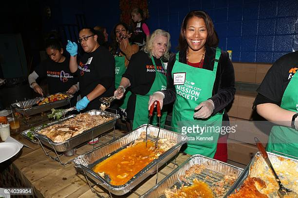 Sophia Bishop attends the Jean Shafiroff Jay Moorhead Underwrite Annual Community Thanksgiving Dinner at NYC Mission Societyat Minisink Townhouse on...