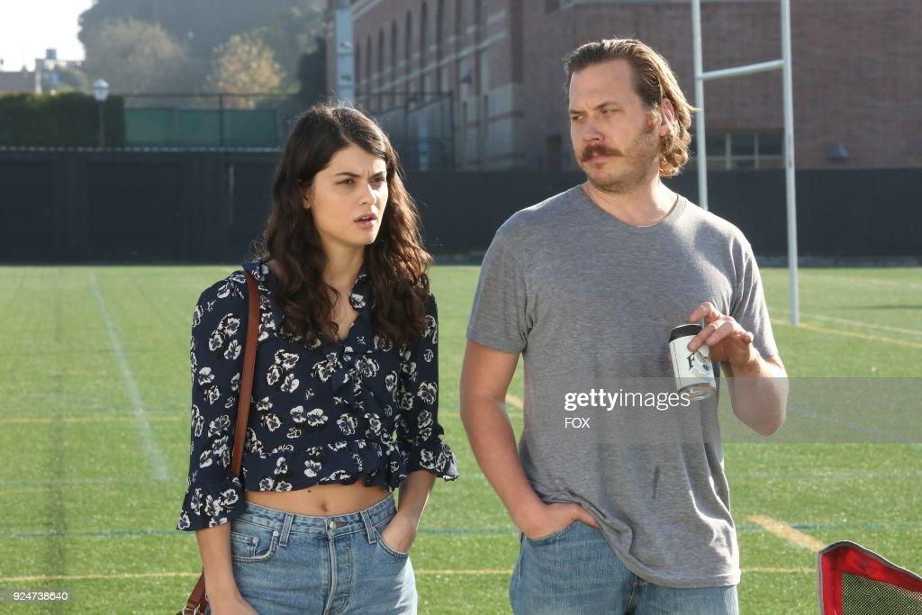 Sophia Black-D'Elia and Scott MacArthur in the The Juice episode of THEMICKairingTuesday, Feb. 27(9:30-10:00 PM ET/PT) on FOX.