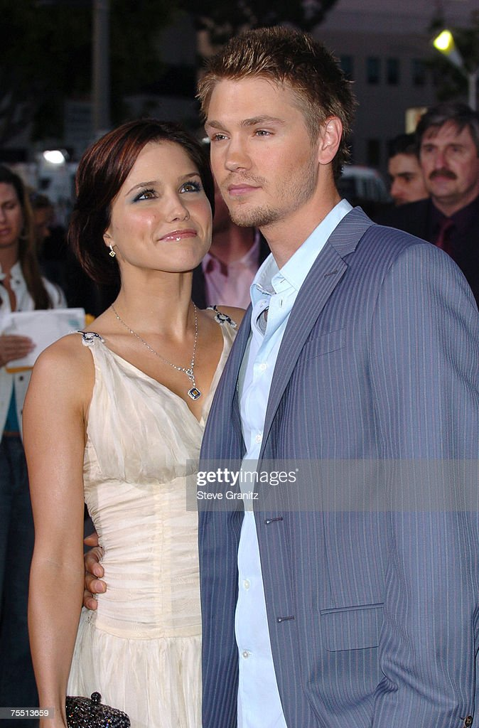 Sophia Bush and Chad Michael Murray at the Mann Village Theatre in Westwood, California