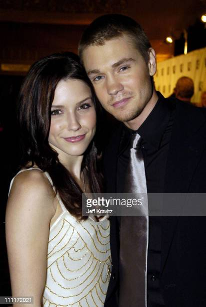 Sophia Bush and Chad Michael Murray during 10th Annual Critics' Choice Awards Audience and Backstage at Wiltern LG Theater in Los Angeles California...