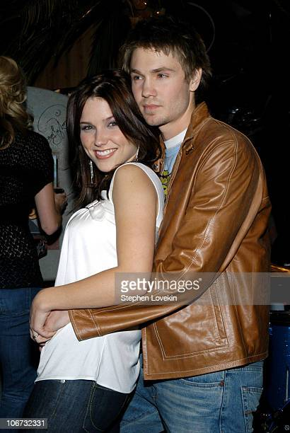 Sophia Bush and Chad Michael Murray during Gavin DeGraw and The Cast of One Tree Hill Make Appearance at Planet Hollywood Times Square at Planet...