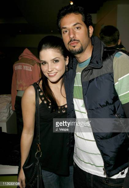 Sophia Bush and Guy Oseary during Rebel Yell Spring Launch with New Partner Guy Oseary Inside at Kitson in Beverly Hills California United States