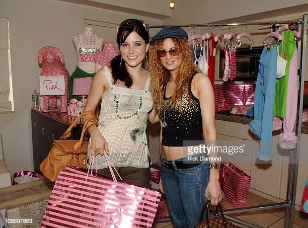 Sophia Bush and Miri BenAri at Victoria's Secret during 2005 MTV VMA Victoria's Secret and EXPRESS Suites Day 3 at Sagamore Hotel in Miami Beach...